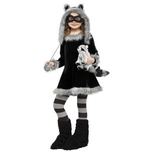 Racy Raccoon kids Costume