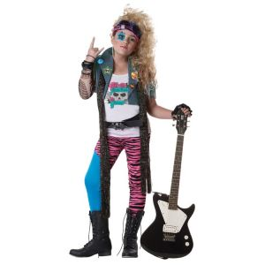 80's Glam Rocker Kid