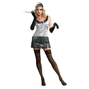Sequin Flapper 20s Costume