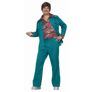 70s Leisure Suit (Blue Green)