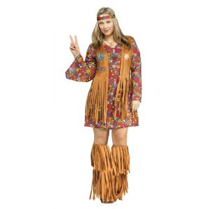 Peace & Love Hippie Plus Size