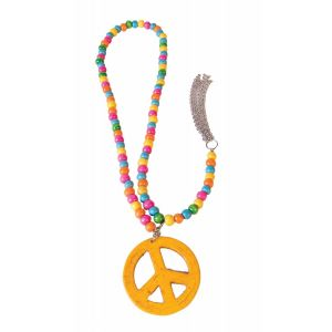 Wooden Peace Necklace
