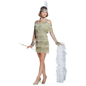 1920s Champagne Flapper