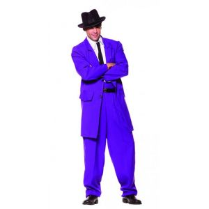 1920's Zoot Suit Purple