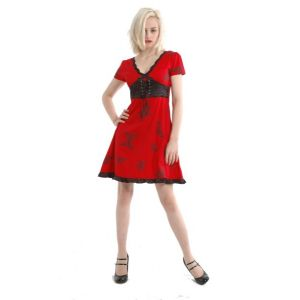 Rocker Dress Red