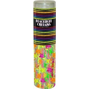 Bead Curtain Neon Stars