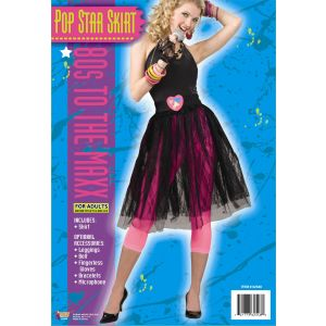 80's Pop Star Skirt