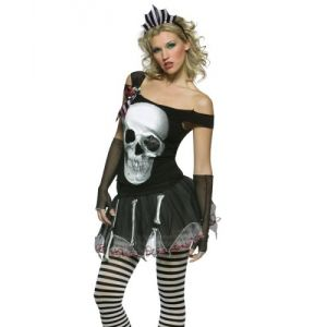 Skulls Dress Rock Costumes
