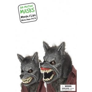 Werewolf Movable Ani-Motion Mask