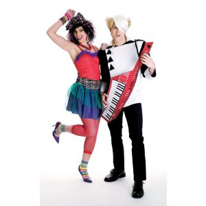 80's New Wave Couple Costumes