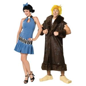 Betty & Barney Couple Costumes