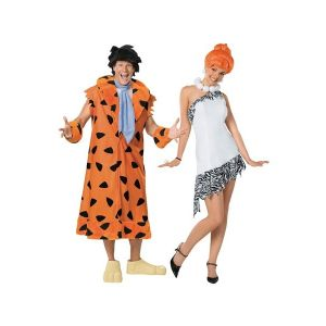 Fred & Wilma Couple Costumes.