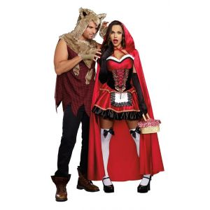 Big Bad Wolf and Little Red Couple