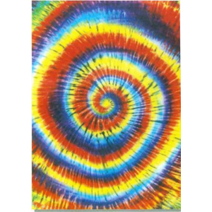 Tye Dye Swirl Bed or Couch Cover