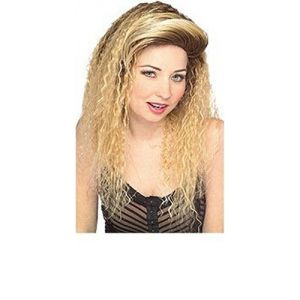 80's Valley Girl Wig Blonde
