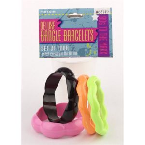 80's Bangles Deluxe (4 Pack)