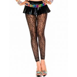 Fancy Dress Lace Leggings
