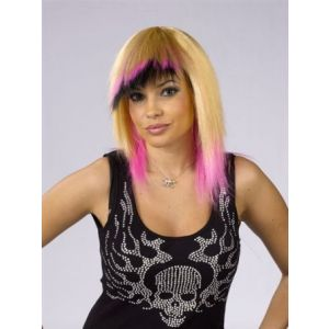 Jagged Edge Wig Blonde