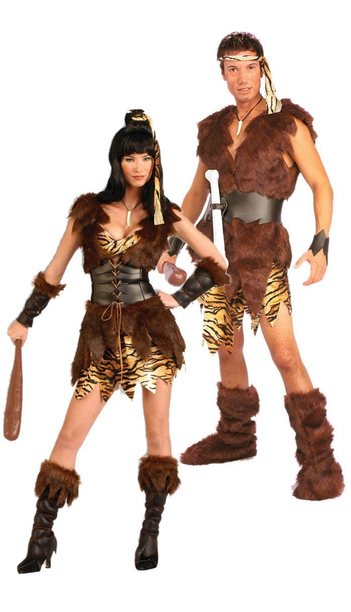 Cave Couple Costumes Online For Sale Funwirks