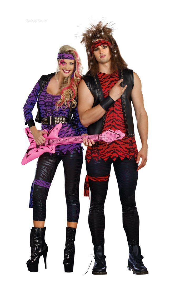 Halloween Rockstar.Rockstar Couple